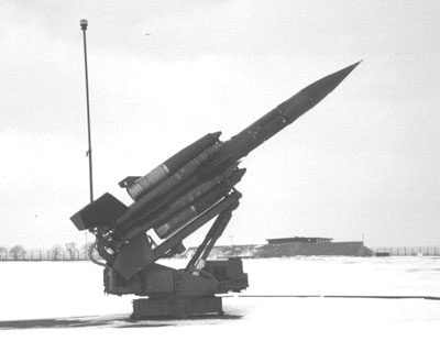 25 Squadron Bloodhound Mk2 Missile